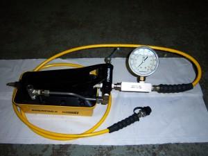 pompa pneumatica ENERPAC 3
